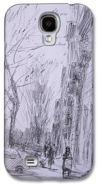 morning in Via Nomentana Rome Galaxy S4 Case by Ylli Haruni
