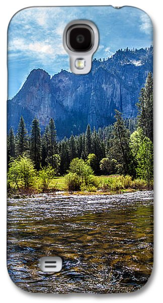 Yosemite National Park Galaxy S4 Case - Morning Inspirations 3 Of 3 by Az Jackson