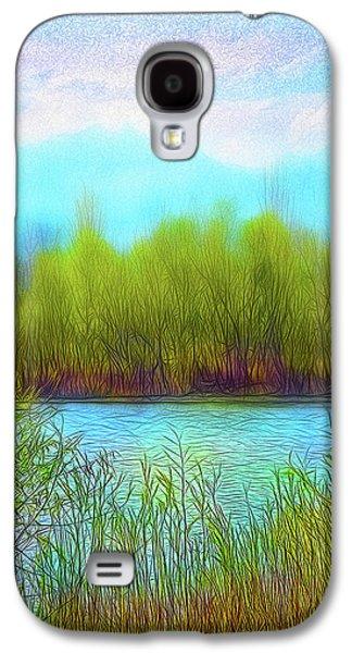 Morning Lake In Stillness Galaxy S4 Case