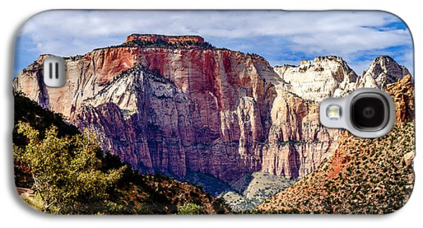 Morning Light On Zion's West Temple Galaxy S4 Case