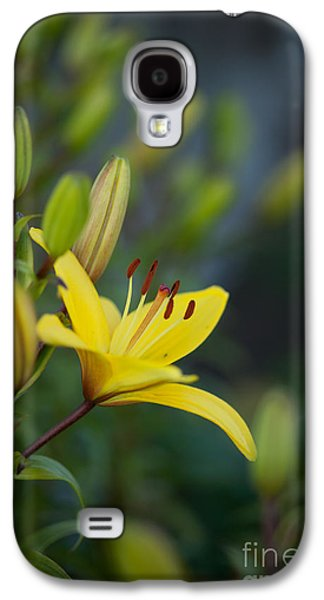 Morning Lily Galaxy S4 Case by Mike Reid