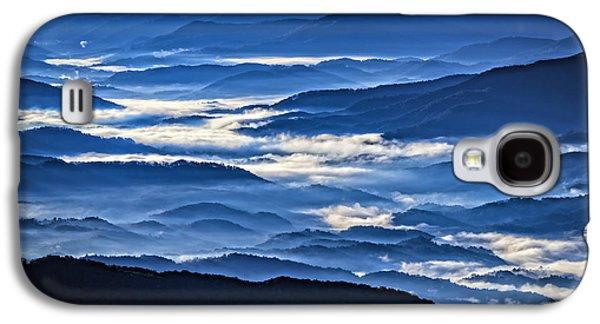 Morning Mist In The Smokies Galaxy S4 Case