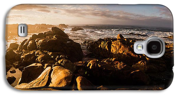 Galaxy S4 Case featuring the photograph Morning Ocean Panorama by Jorgo Photography - Wall Art Gallery