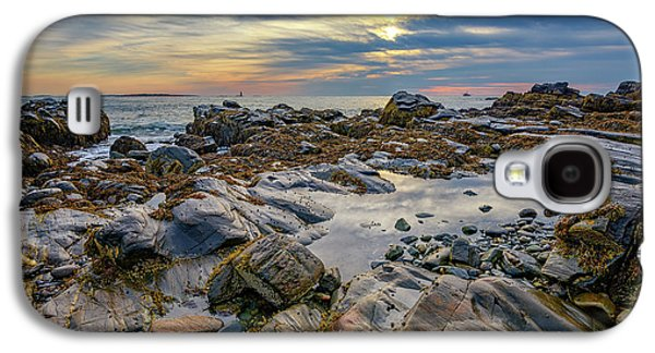Morning On Casco Bay Galaxy S4 Case by Rick Berk