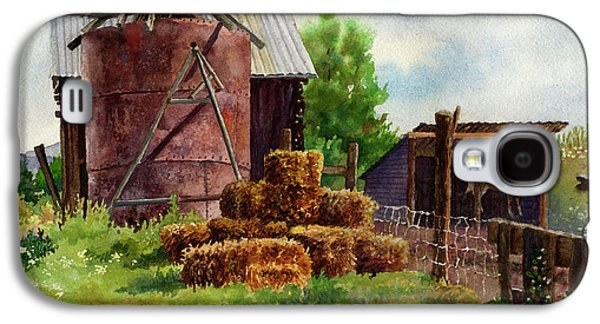 Morning On The Farm Galaxy S4 Case by Anne Gifford