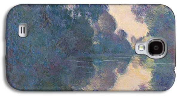 Morning On The Seine Near Giverny, 1897 Galaxy S4 Case by Claude Monet