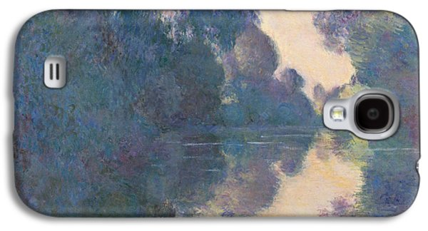Morning On The Seine Near Giverny, 1897 Galaxy S4 Case