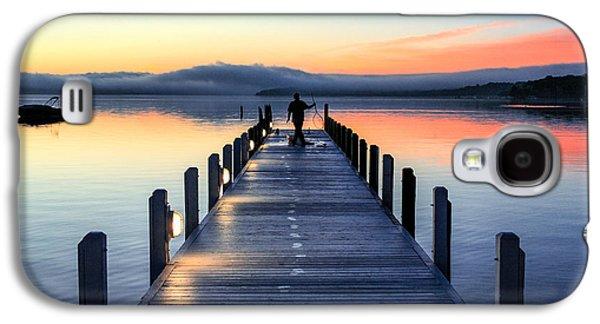Morning Pier Galaxy S4 Case by Todd Klassy