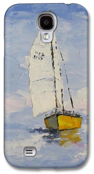 Morning Sail Galaxy S4 Case by Anita Ann Johnson