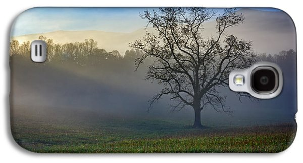 Morning Sunbeams In Cades Cove Galaxy S4 Case