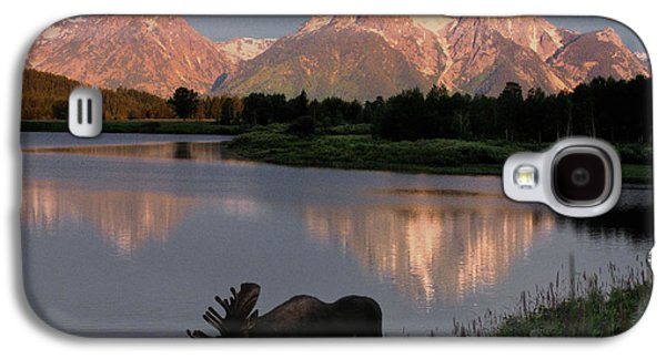 Mountain Galaxy S4 Case - Morning Tranquility by Sandra Bronstein