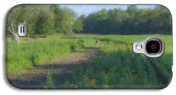Morning Walk At Langwater Farm Galaxy S4 Case by Bill McEntee