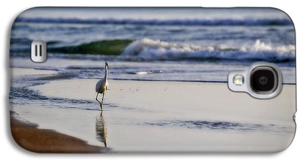 Morning Walk At Ormond Beach Galaxy S4 Case