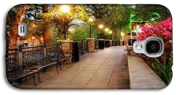 Morning Walk In Gatlinburg Tennessee Galaxy S4 Case by Greg Mimbs