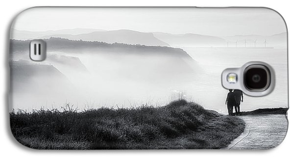 Morning Walk With Sea Mist Galaxy S4 Case
