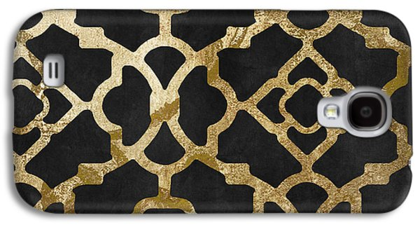 Moroccan Gold IIi Galaxy S4 Case by Mindy Sommers
