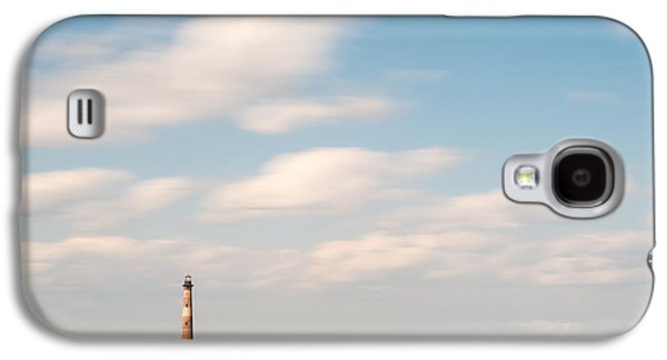 Minimalist Galaxy S4 Case - Morris Island Lighthouse Color by Ivo Kerssemakers