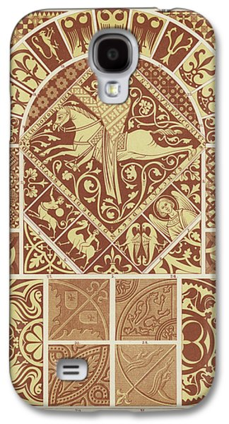 Mosaic Patterns From The Middle Ages Galaxy S4 Case