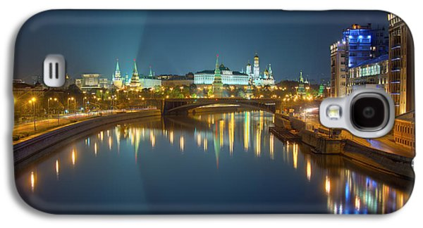 Moscow Kremlin At Night Galaxy S4 Case