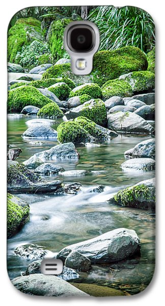 Mossy Forest Stream Galaxy S4 Case