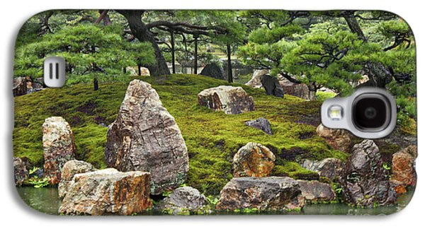 Mossy Japanese Garden Galaxy S4 Case by Carol Groenen