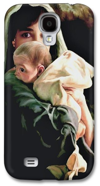 Mother And Child Galaxy S4 Case by Ron Chambers
