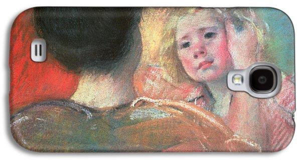 Mother Combing Sara's Hair  Galaxy S4 Case by Mary Stevenson Cassatt