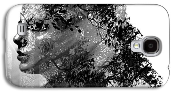 Mother Nature Black And White Galaxy S4 Case by Marian Voicu