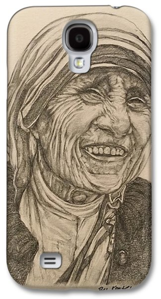 Mother Theresa Kindness Galaxy S4 Case by Kent Chua