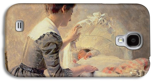 Motherhood Galaxy S4 Case by Louis Emile Adan