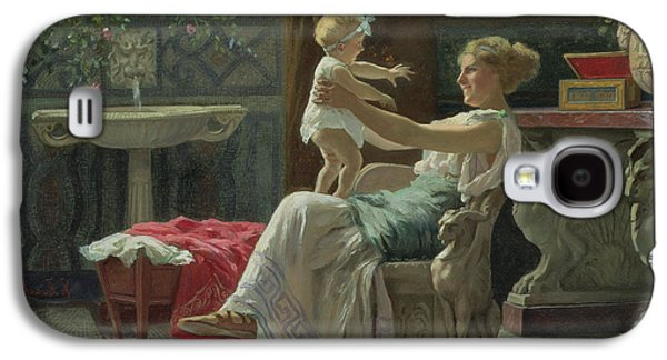 Mother's Darling  Galaxy S4 Case by Zocchi Guglielmo