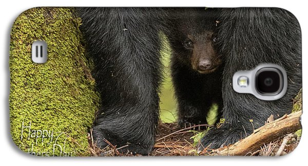 Mothers Day Bear Card Galaxy S4 Case