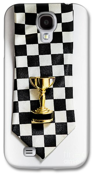 Motor Sport Racing Tie And Trophy Galaxy S4 Case by Jorgo Photography - Wall Art Gallery