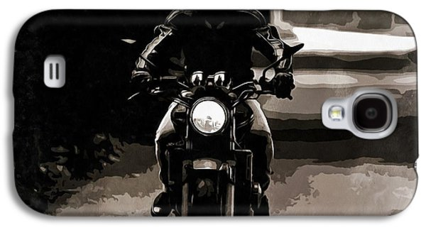 Motorcycle Artwork Galaxy S4 Case