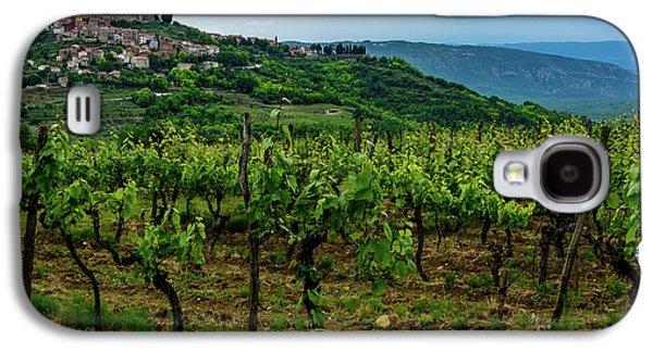 Motovun And Vineyards - Istrian Hill Town, Croatia Galaxy S4 Case