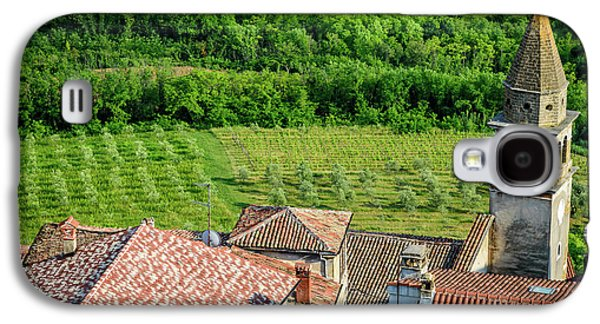 Motovun Istrian Hill Town - A View From The Ramparts, Istria, Croatia Galaxy S4 Case