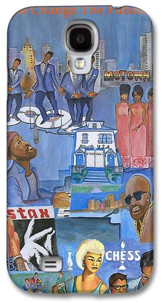 Motown Commemorative 50th Anniversary Galaxy S4 Case by Kenji Lauren Tanner