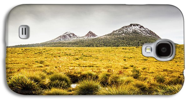 Mount Arrowsmith Tasmania Australia Galaxy S4 Case by Jorgo Photography - Wall Art Gallery
