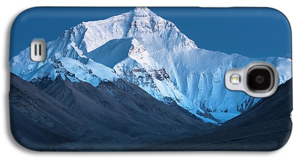 Mount Everest At Blue Hour, Rongbuk, 2007 Galaxy S4 Case