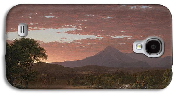 Mount Katahdin Galaxy S4 Case by Frederic Edwin Church