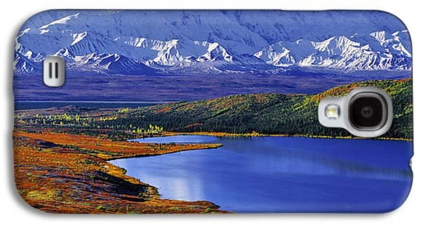 Mount Mckinley And Wonder Lake Campground In The Fall Galaxy S4 Case