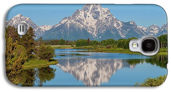 Mount Moran On Snake River Landscape Galaxy S4 Case