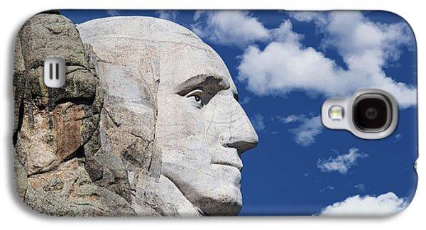 Mount Rushmore Profile Of George Washington Galaxy S4 Case