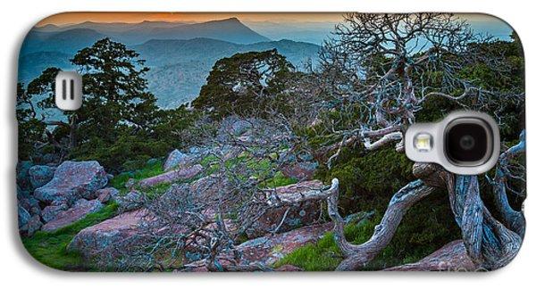 Mount Scott Sunset Galaxy S4 Case by Inge Johnsson