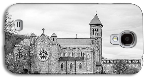 Mount St. Mary's University Chapel Galaxy S4 Case by University Icons