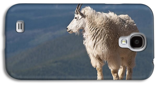 Galaxy S4 Case featuring the photograph Mountain Goat by Gary Lengyel