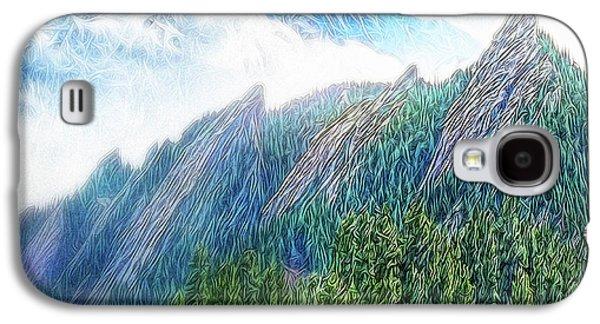 Mountain Pine Meadow Galaxy S4 Case
