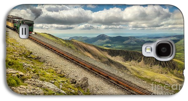 Mountain Railway Galaxy S4 Case by Adrian Evans