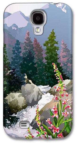Mountain Stream Galaxy S4 Case by Anne Gifford