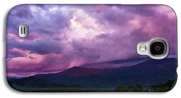 Mountain Sunset In The East Galaxy S4 Case